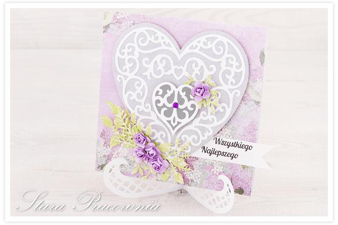 kartki ręcznie robione, kartka ręcznie robiona, kartka z sercem, kartki z serduszkiem, cardmaking, scrapbooking