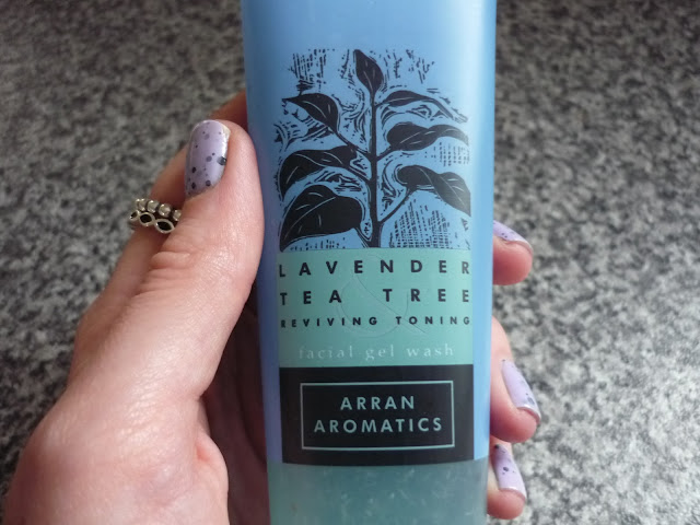 Arran Aromatics Lavendar Tea Tree facial wash review
