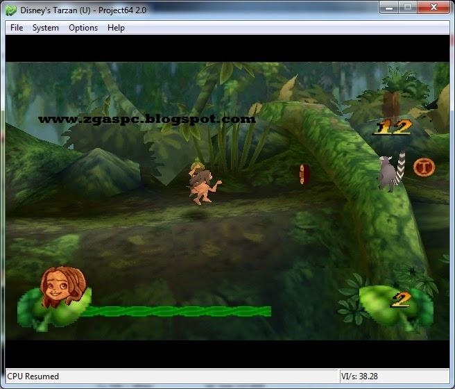 Disney's Tarzan Nitendo 64