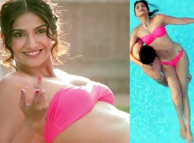 Sonam Kapoor bikini pic