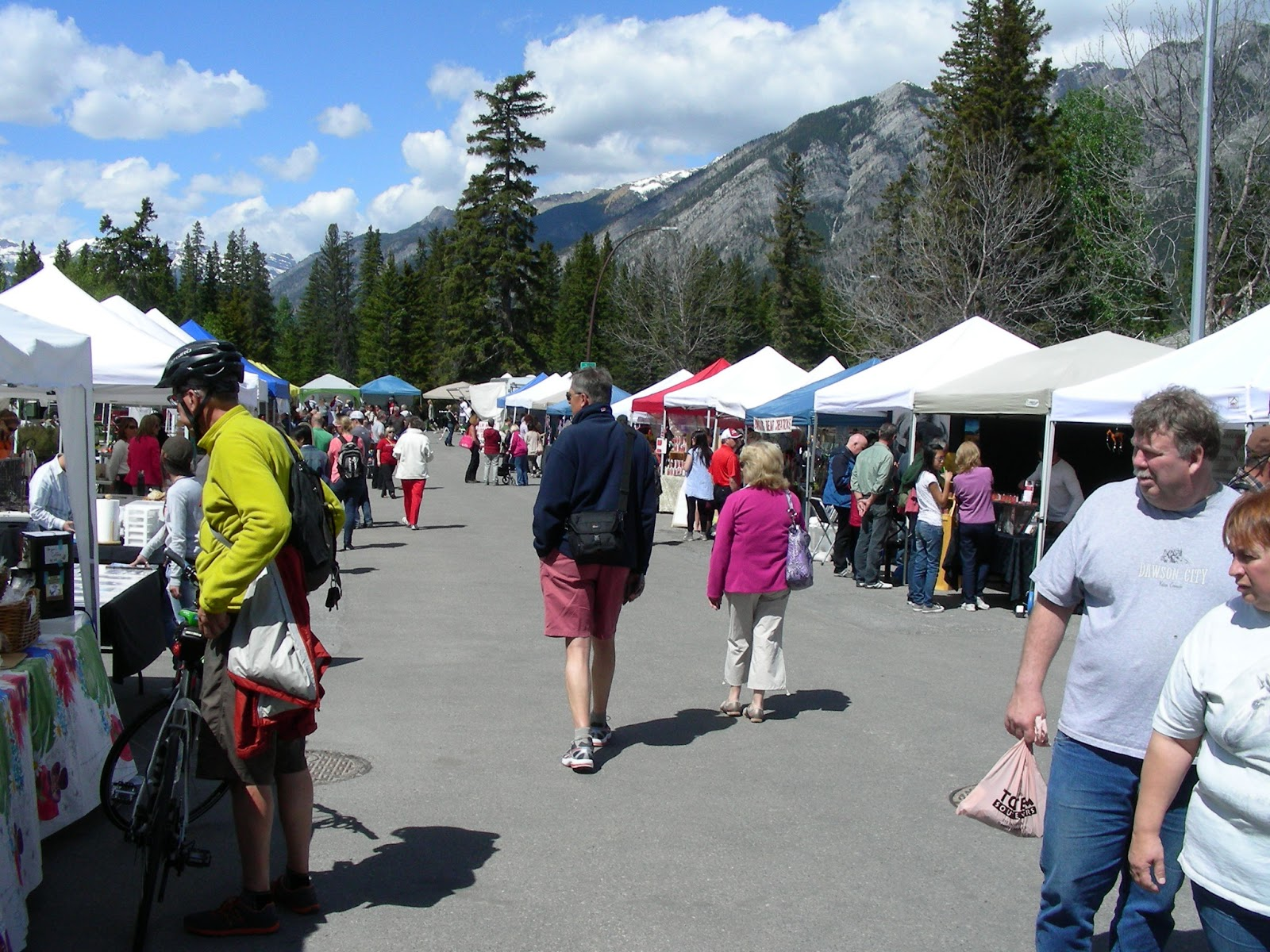 Spirits Of The Creek Banff Wednesday Market First One