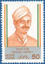 La rebelión de los cipayos de 1857, conocida también como El motín de los cipayos 1984-Mangal_Pandey