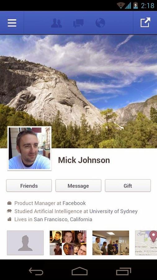 Facebook Android Apk Uygulaması resimi 4