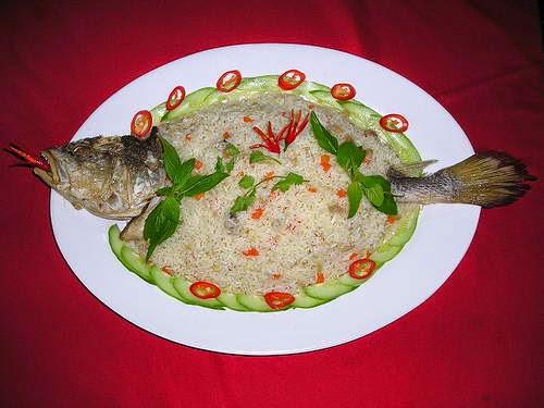 Vietnamese Rice Recipes - Cơm chiên cá mặn