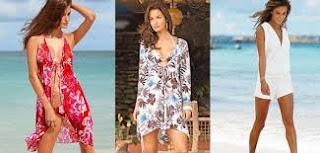 modelo de camisão para usar na praia - dicas e fotos