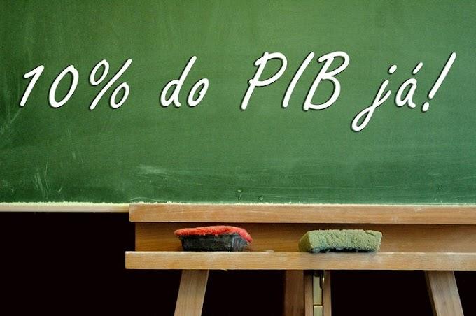 Comissão do PNE na Câmara aprova 10% do PIB para a educação