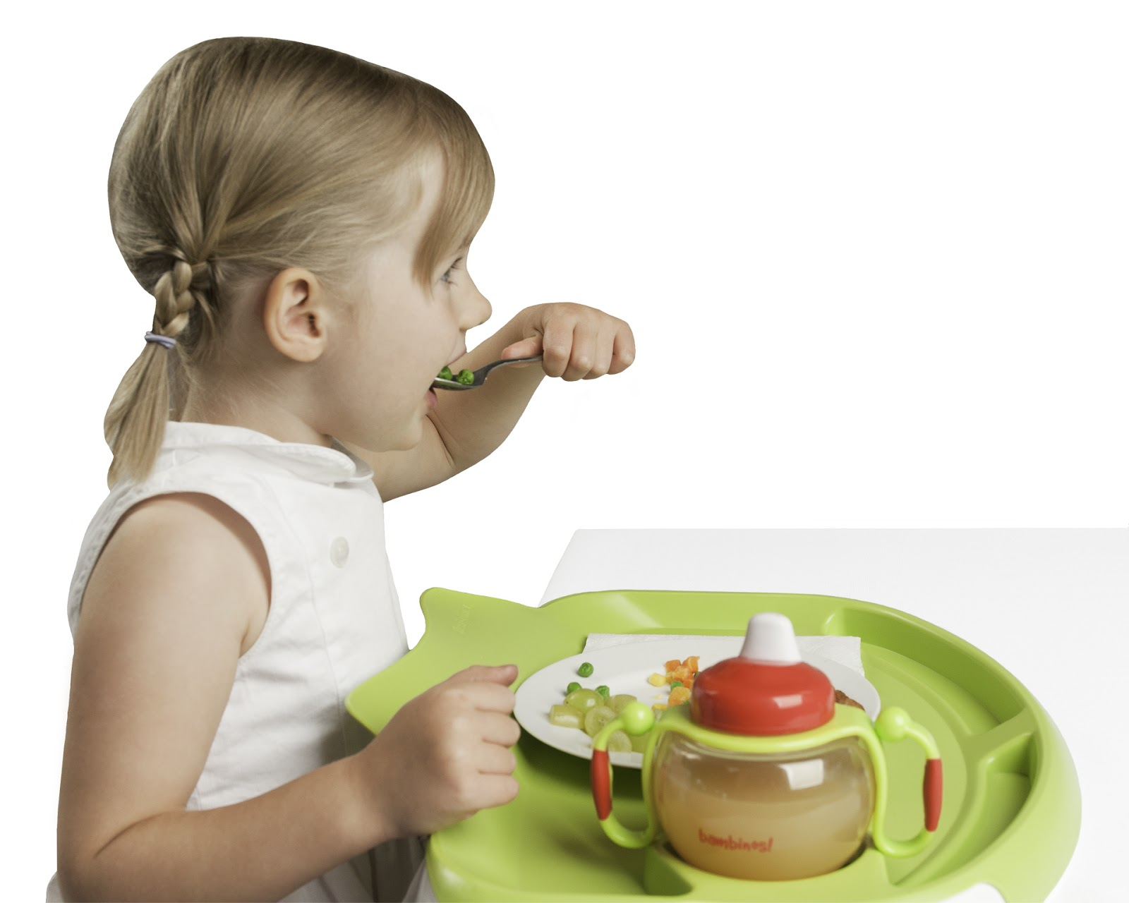 Lessen the mess with the tidy table tray flexi diner for Eating table