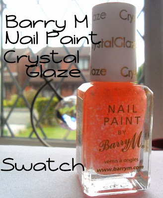 Barry M Crystal Glaze Swatch