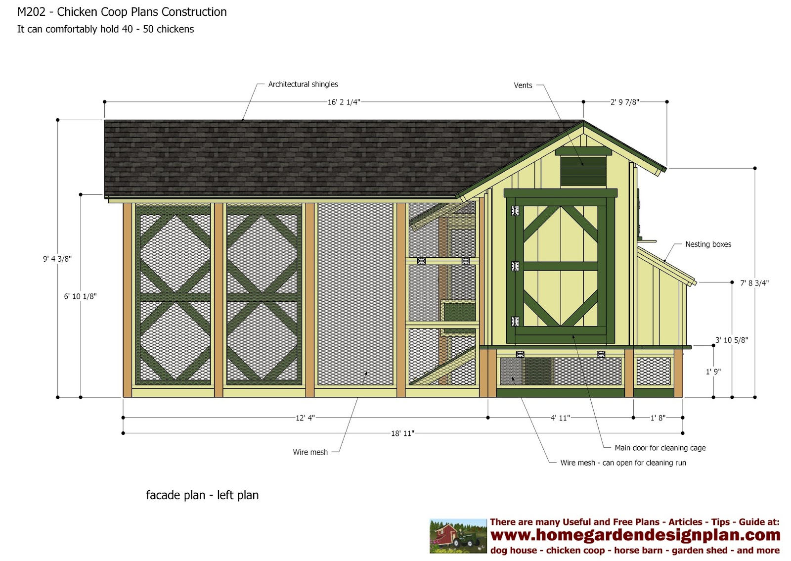 Denny yam free pdf chicken coop plans for Chicken coop plans free pdf