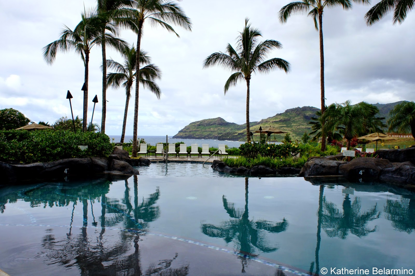 Marriott's Kauai Lagoons Pool Hawaii