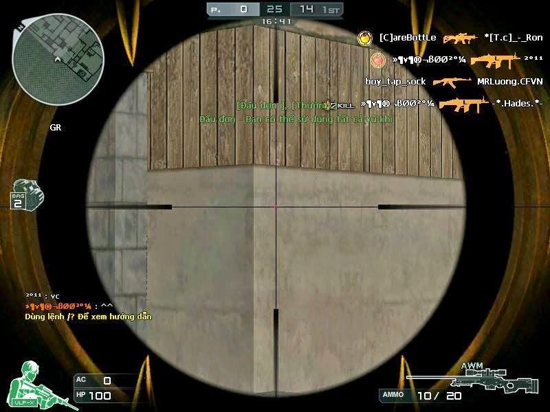 MOD AWM VIP Crosshair