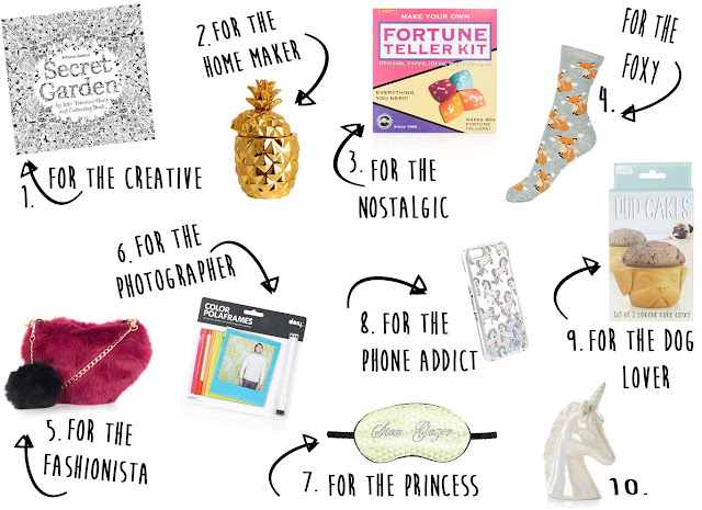 Christmas Gift Guide: Stocking Fillers For Her