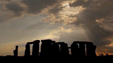 Stonehenge Images Twilight Skies