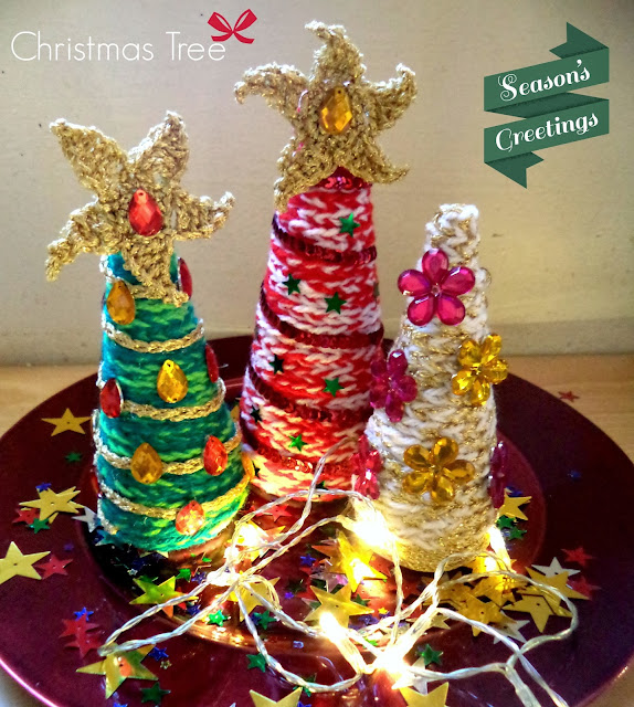 árbol de Navidad amigurumi