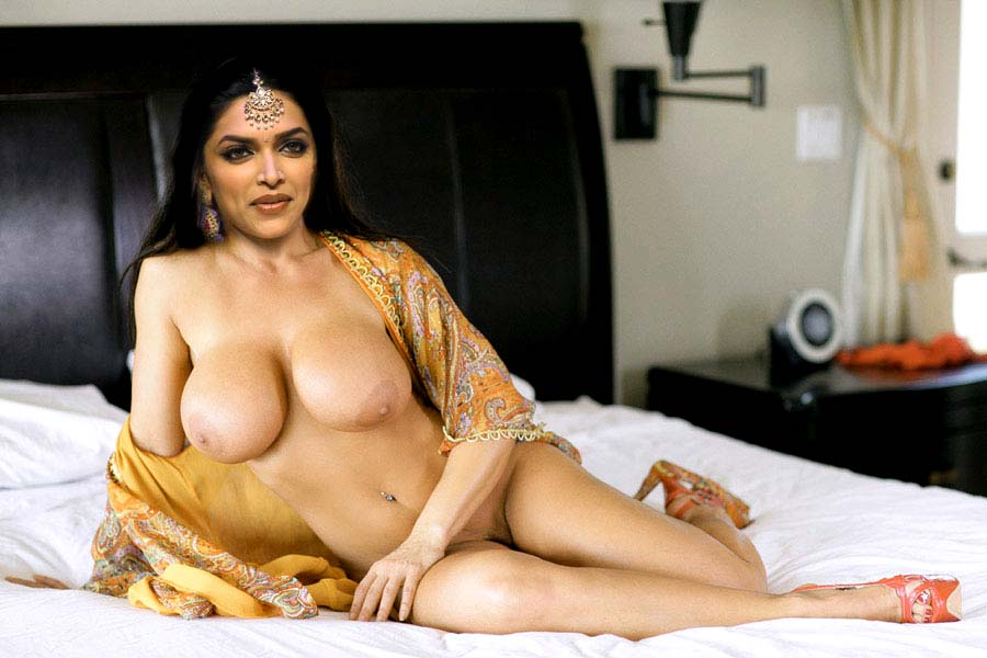 Deepika Padukone Eposed Her Big Boobs Nipples And Shaved Pussy Hole