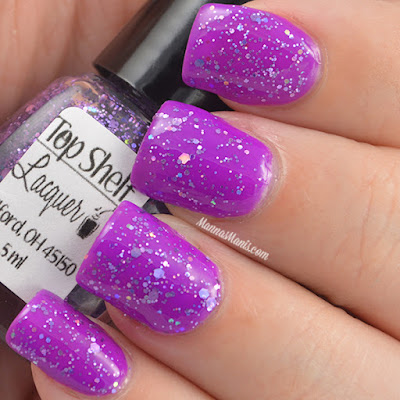 Top Shelf Lacquer Purple Lobster  swatches