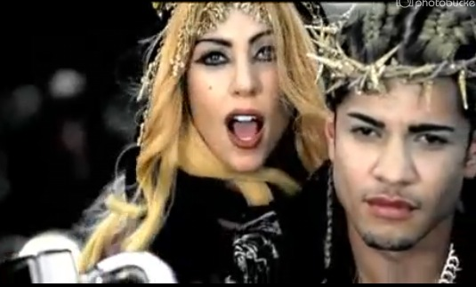 lady gaga judas video clip. Lady Gaga#39;s new single quot;Judasquot;