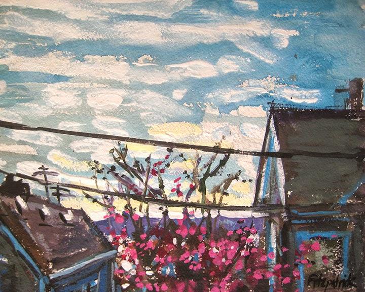 Spring Sky by Char Fitzpatrick