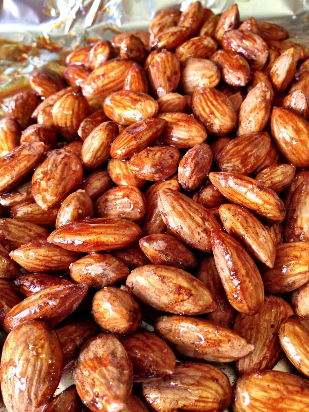 Cinnamon-Roasted Almonds Recipe — Dishmaps