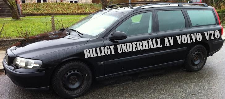 BILLIGT UNDERHÅLL AV V70 2,4T 2001