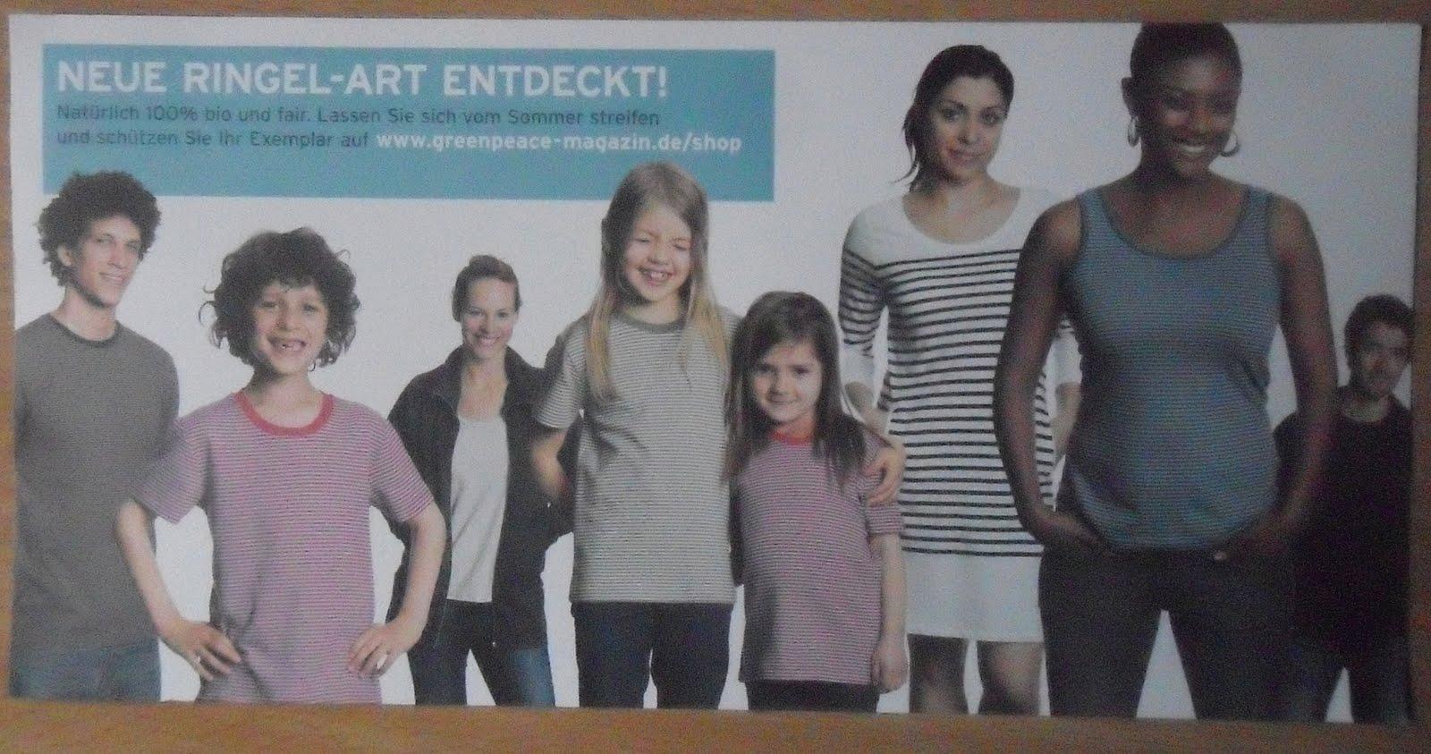 Greenpeace Werbung