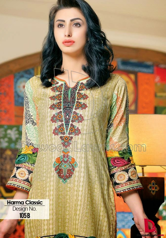 Dawood lawn collection for 2015