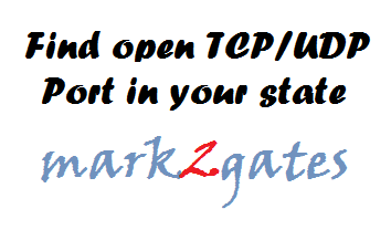 how to test if udp port open