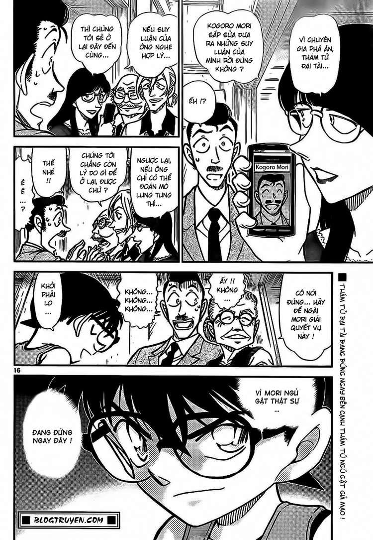 Detective Conan - Thám Tử Lừng Danh Conan chap 788 page 17 - IZTruyenTranh.com