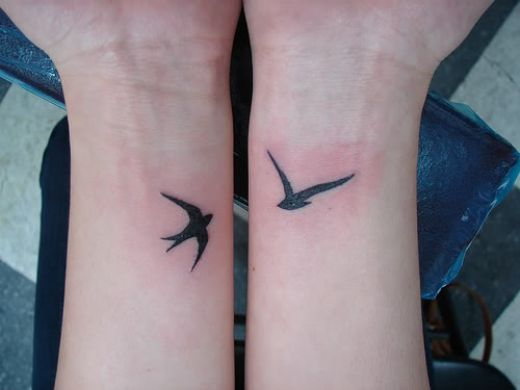 Small Wrist Tattoos for Girls