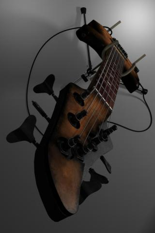 Bass Guitar iPod Wallpaper