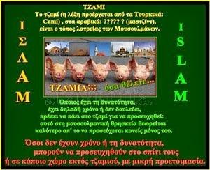 ΠΡΟΣΟΧΗ!!! Τέμενος: ΟΧΙ Τέμενος, είναι καί λέγεται ΤΖΑΜΙ