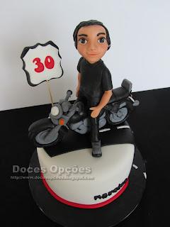 motard bolo aniversário bragança