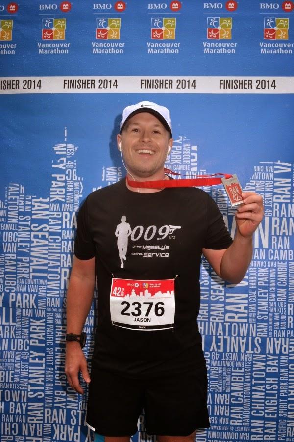 Vancouver Marathon Finisher 2014