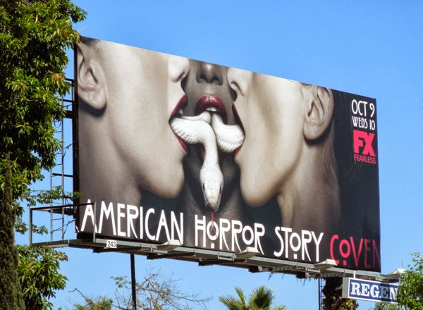 American Horror Story Coven season 3 billboard