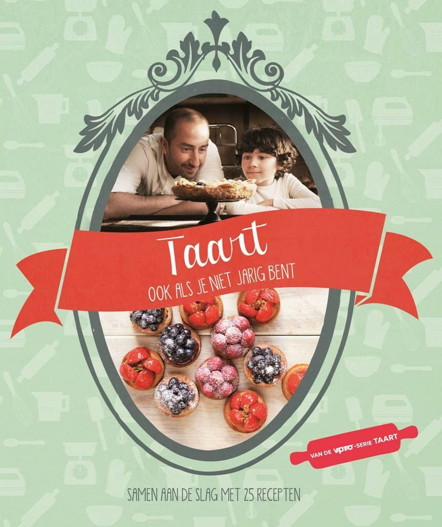 Bakboek Taart van de VPRO tv serie