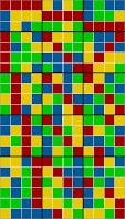 21x12 grid coloring - sorted solution 3