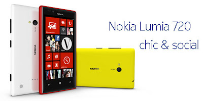 NOKIA LUMIA 720 FULL SPECIFICATIONS & PRICE
