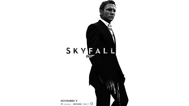 Skyfall PowerPoint background 05