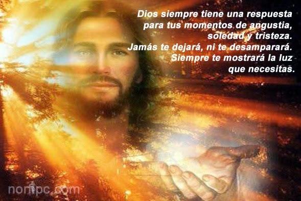 Jesús nunca nos abandona