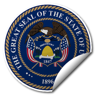 Sticker of Utah Seal