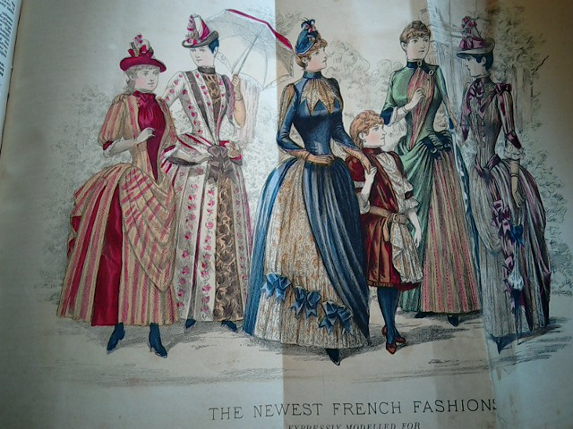 French Fashions 1886