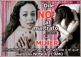 NO AL  MALTRATO  FEMENINO