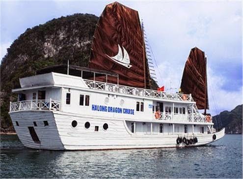 Du thuyền Dragon Cruise - Hạ Long 2N/1Đ ngủ tàu