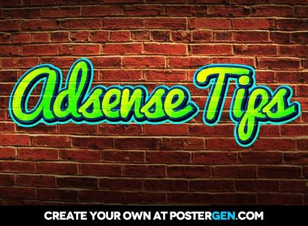 adsense tips