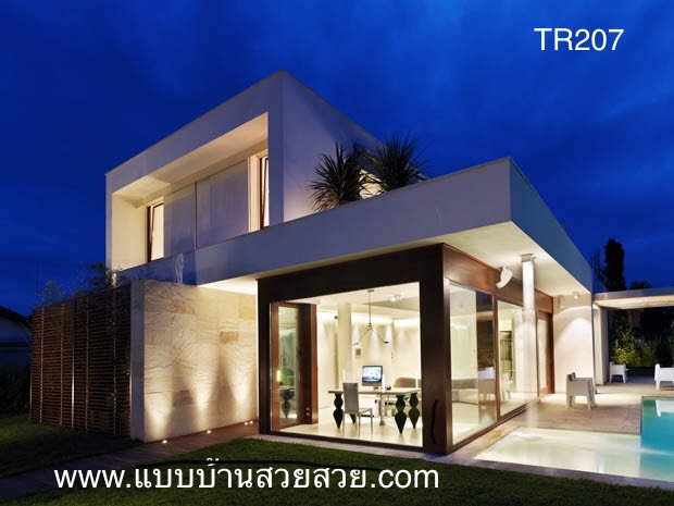 แบบบ้านสวย  บ้าน 2 ชั้น  TR207