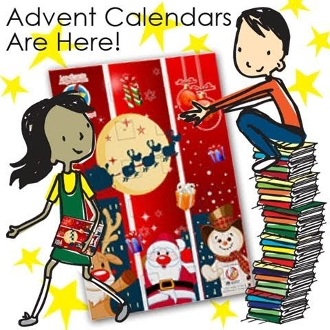 Kids + Allergies: Chocolate Advent Calendars have arrived!