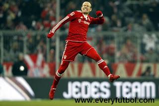 Goles De Robben Con El Bayern Munich