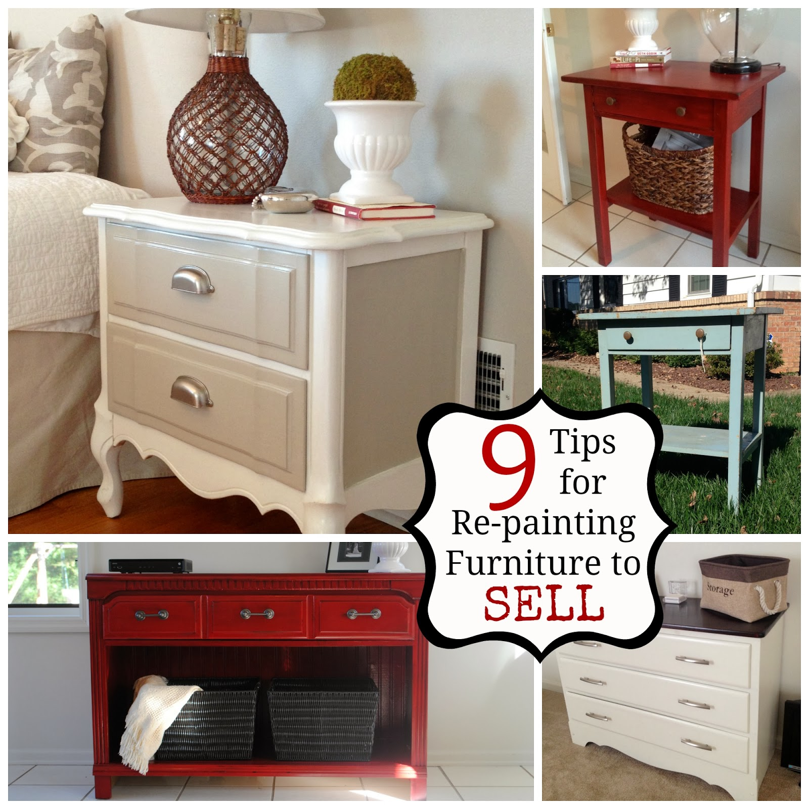 Selling Home Furniture colorful home makeovers from property brothers buying selling Two It Yourself 9 Tips For Selling Painted Re Finished Furniture
