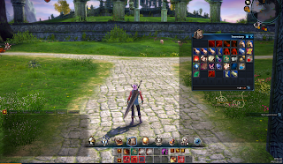 A character from Tera Online showing the gold from invetory