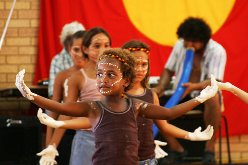 Indigenous Australians. (Photo by Global Panorama)